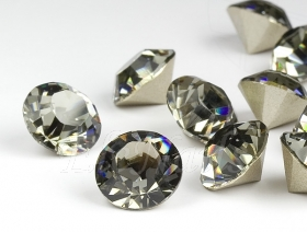 Swarovski Steine black diamond 4mm