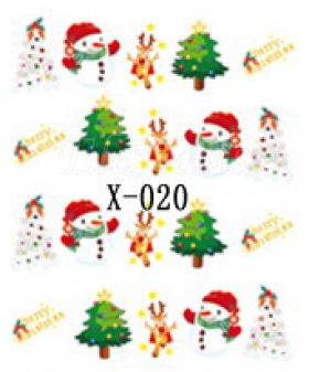 Winter Sticker X-020