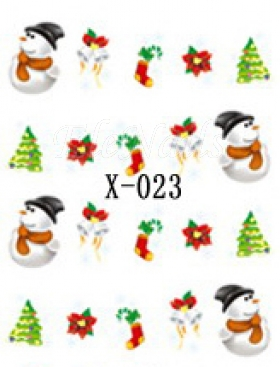 Winter Sticker X-023
