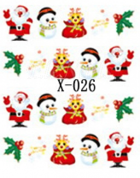 Winter Sticker X-026