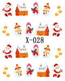Winter Sticker X-028