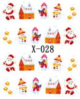 Winter Sticker X-028