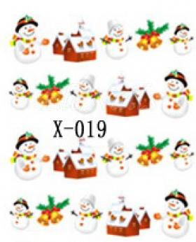 Winter Sticker X019