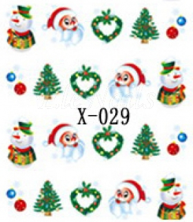 Winter Sticker X029